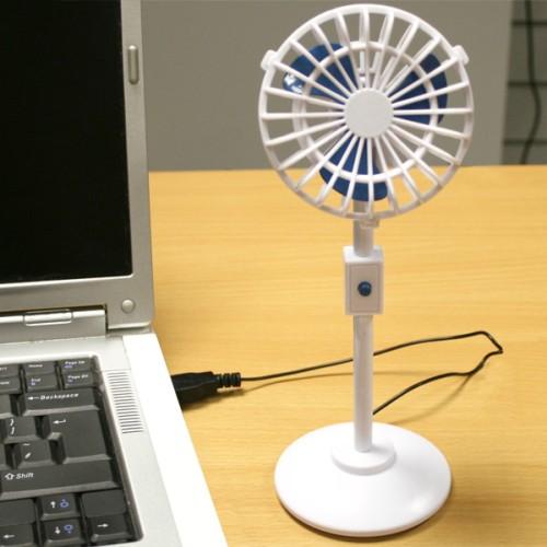 Миниатюрный вентилятор с питанием от